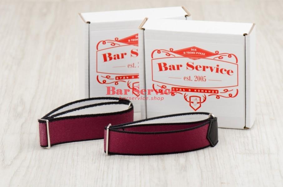 Армбенды, цвет бордо. Bar Service в Оренбурге